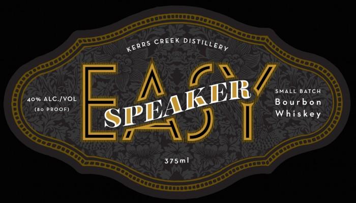 Easy Speaker Bourbon by Kerrs Creek Distillery